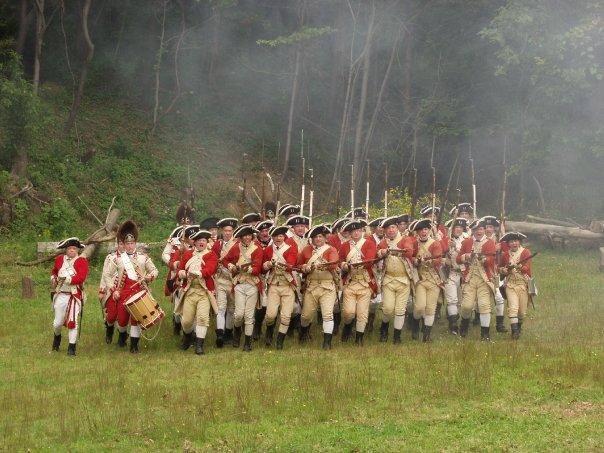 22nd Regiment of Foot - 18th Century Reenacting